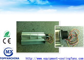 China 24V DC  65MM Diameter Aluminum Cross Flow Fan For Elevator Ventilating supplier