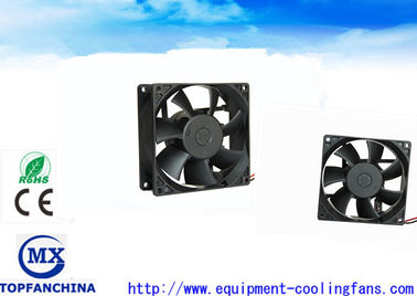 China 3.6 Inch 92 MM Portable Small DC Brushless Fan , High Temp Exhaust Motor For Cabinet Chassis supplier