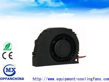 China Car Ball Bearing DC Blower Fan Explosion Proof Exhaust Fan With Plastic Frame supplier