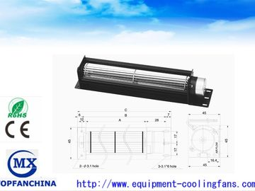 China Compact Dc12v - 24v Equipment Cooling Fans Ce Ul Rohs / Elevator Tangential Cooling Fan supplier
