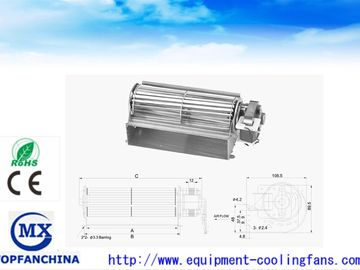 China 65Mm X 120mm Elevator Cross Flow Fans , AC Equipment Cross Flow Blowers supplier