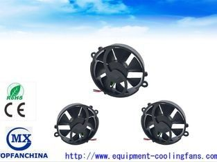China Super Mini Round IP57 DC Axial Fans / Laptop Cooling Fans High Speed Heat Resiatant supplier