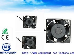 China Low Noise 60mm Small Explosion Proof Exhaust Fan 220CV / 240V Ac Fridge Cooling Fan supplier