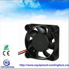 China Portable plastic small cooling fan , dc axial compact fan 40mm x 40mm x 15mm supplier