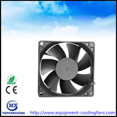 China 48V DC 92MM Brushless Fan , 4000rmp Commercial Compact Desktop Cooling Fan CE ROHS supplier