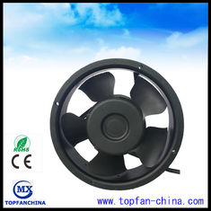 China 7 Inch Dc Axial Fans / High Air Flow Low Niose Computer Cabinet Fan 172mm x 172mm x  51mm supplier