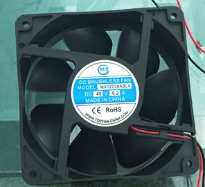 China 7 Blades 48V Equipment Cooling Fans , axial brushless fan for ventilating radiato supplier