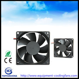 China High Air Volume DC 12V Computer Case Cooling Fans High Temperature 80mm X 80mm X 25mm supplier