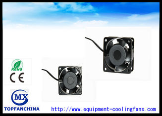 China Comopact IP58 IP68 110V 2400 RPM Cooling Fan 6030 Platics Frame and Impeller supplier