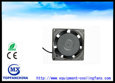 China Low noise 11w AC brushless fan 80 x 80 x 25 mm waterproof and dustproof function supplier