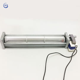 China Elevator And Refrigerator Fridge Cooling Fan , AC Cross Flow Fan Radial Brushless Motor supplier