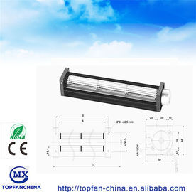 China DC Fridge Fan 30*150mm cross flow industrial ventilation fans supplier