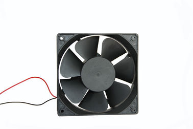 China Plastic Fridge Cooling Fan 12V 24V DC  /  DC Axial Cooler Motor 120MM supplier