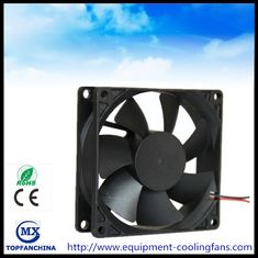 China 12V 4000rpm 56CFM Four Wire DC Axial Laptop Cooling Fans With CE ROHS UL supplier