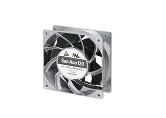 China High Speed Computer Case Cooling Fans Axial 12038 24V Ball Bearing Aluminum Frame supplier