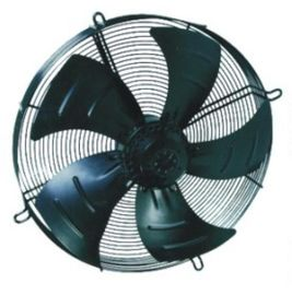China 380V High Speed AC Brushless Cooling Fan 1350/1600RPM Speed 50/60hz Frequency supplier