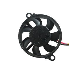 China Mini Bracket Round DC Axial Fans 5V 12V Hydraulic Bearing Bearing 6000-110000RPM Speed supplier