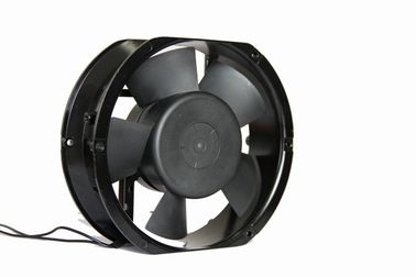 China Exhaust Cooling 220V AC Brushless Fan , 7 Inch AC Radiator Fan Plastic Impellear supplier