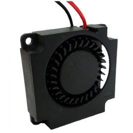 12V CPU Electronics Cooling Fan , DC Centrifugal Blower Fan Plastic Material