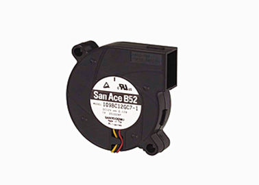 China San Ace DC Blower Fan 5000rpm DC 24V Lowe Noise Balck Color IP58 With FG RD supplier