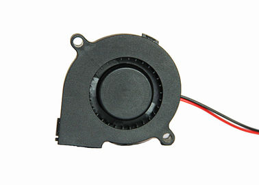 China Middle Speed 5v 9.0 Inch Air DC Blower Fan Sleeve Bearing Type Industrial Fan 5015 supplier