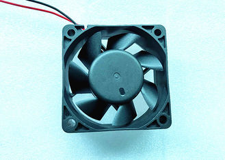 China 6000rpm DC Axial Fans 12V DC Motor Impedence Protected With 2 Pin Lead Wire supplier