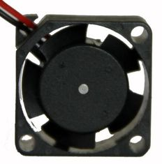 China Plastic Material Mini DC Axial Fans 5V 12V DC Cooler Motor Type 12000rpm Speed supplier
