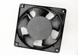 China Metal Frame AC Brushless Fan , Waterproof 2500rpm Air Flow AC Cooling Fan 120X120X38mm supplier