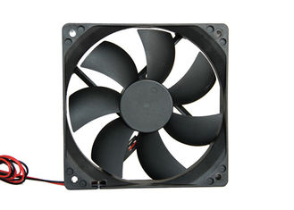China 0.1A Low Power Ventilation DC Axial Fans Impedence Protected Motor 25mm Thickness With PWM supplier