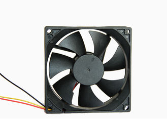 China 0.1A Low Power Axial Fan 24V 3500 RPM 92 X 92 X 25mm With CE ROHS Approval supplier