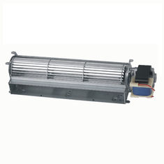 China 220V AC Tangential Cross Flow Fan 420mm High Speed Ball Bearing Metal Frame supplier
