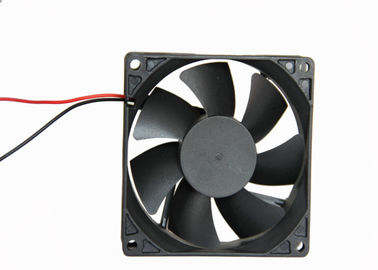 China 12V DC Brushless Fan Plastic Frame / Impeller Silent Cooling Type With Jack supplier
