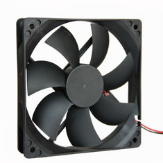 China 12 Volt DC Exhaust Equipment Cooling Fans 3500RPM 120*120*25mm With Low Noise supplier