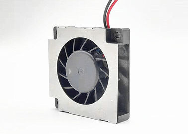 China Small DC Blower Fan 7000RPM 5V Aluminum Frame Plastic Impeller ROHS Approval supplier