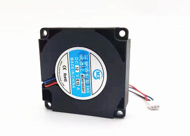 China Small DC Blower Fan 5000RPM 12v Square FG Function 0.07-0.18A With Plastic Frame supplier