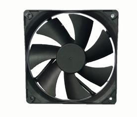 China 12 Volt DC Exhaust Fan Plastic Material 120*120*25mm Low Noise For Computer supplier