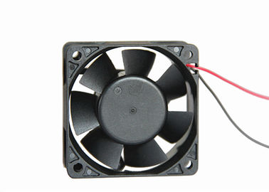 6025 Brushless Motor DC Axial Fans 25mm Thickness 30CFM With CE ROHS Approval