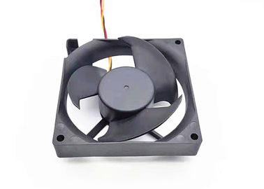 China 3 Blade Equipment Cooling Fans Waterproof 12V 92mm Dc Motor For Refrigerator supplier