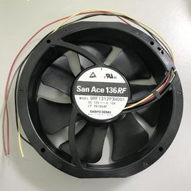 China 9RF1324P3H001 Reversible DC Axial Fans 136 X 28mm Sanyo For Air Distribution Device supplier