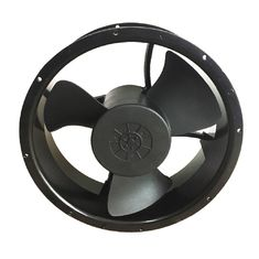 China Round 12v Dc Equipment Cooling Fans 500cfm 600cfm Exhaust Type For Wind Generators supplier