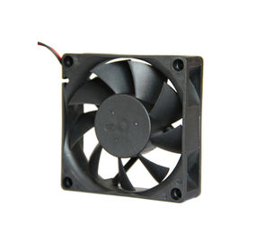 China 24 Volt Electronics Cooling Fans 70*70*25mm Dc Electric Motors With CE Approval supplier