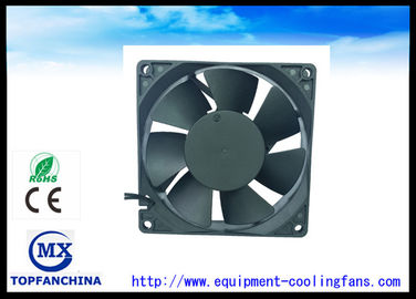 China AC 9225 Explosion Proof Exhaust Fan / Metal High Speed  Brushless Cooling Fans 92mm X 92mm X 25 mm factory