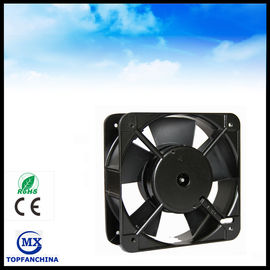 China Low Noise Ball Bearing 150mm Industrial Ventilation Fans For Network Communications distributor