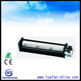 China 40mm AC Fan 110V / 220V for Electric Fireplace , Industrial Electric Cross Flow Fan factory