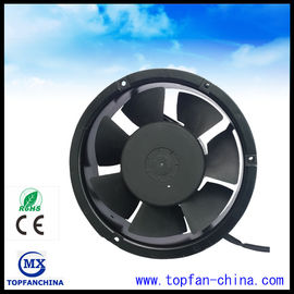 China Ball Bearing 7 Blade 220V Commercial Ventilation Fans 172x172x51mm factory