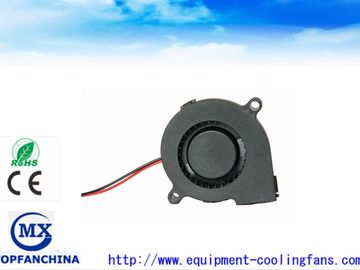 China High speed 2.4 Inch DC Blower Fan , 60 ×60 ×18mm 5v 12v 24v  DC Snail Fan factory