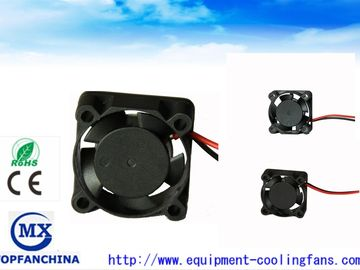 China High Pressure 11000RPM DC Axial Fans 12V 25mm 2.44CFM with Sleeve Bearing factory