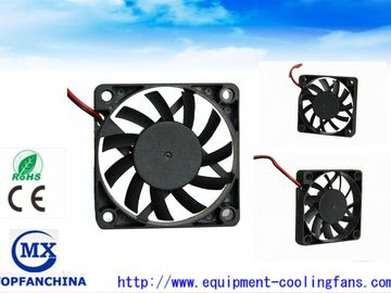 China 60mm Sleeve Bearing PWM FG DC Brushless Fan , High Speed Axial Cooler Fan factory
