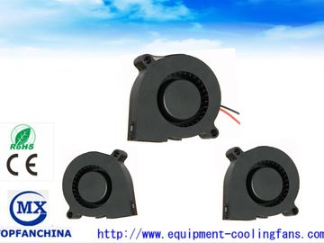 China 51mm Sleeve Bearing  DC Blower Fan / 5v 12v 24v DC Centrifugal Fan With Lead Wire factory