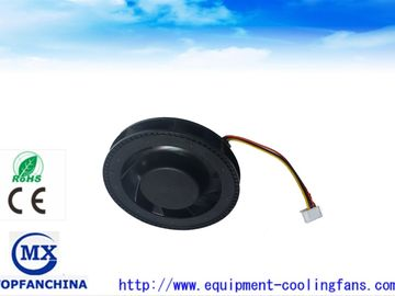 China 100mm Black Plastic Blower Fan with PWM FG /  12V DC Centrifugal Fan 100 ×25mm factory
